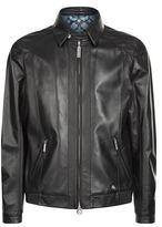 Stefano Ricci Leather Bomber Jacket