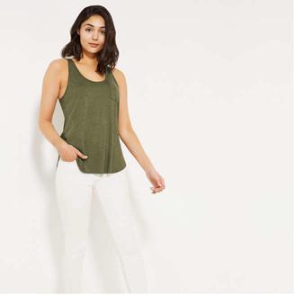 Joe Fresh Boyfriend Tank, Dark Green Mix (Size XL)