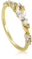Alexis Bittar Marquis 18K Yellow Gold Diamond & Gemstone Ring