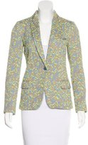 Zadig & Voltaire Textured Notch-Lapel Blazer