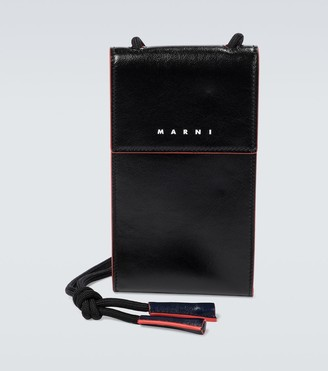 Marni Leather phone case