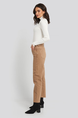 MANGO Mariona Jeans Brown