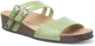 BearPaw Amoria Women's Leather Slide Sandals