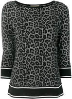 MICHAEL Michael Kors mixed-print jumper