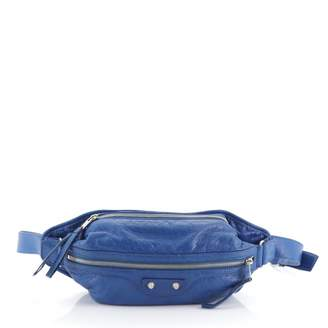 Balenciaga Blue Leather Clutch bags