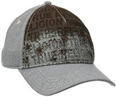 True Religion Men's Perforated Front Baseball Cap