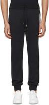 Moncler Gamme Bleu Navy Contrast Lounge Pants