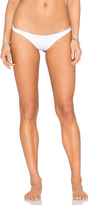 Vitamin A Samba Ruched Back Bikini Bottom