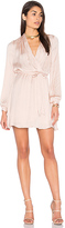 Bardot Miranda Wrap Dress in Blush. - size Aus 10 / US S (also in )
