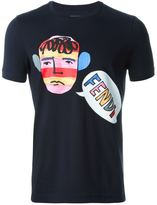 Fendi face print T-shirt