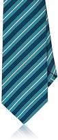 Barneys New York Men's Diagonal Stripe Silk Necktie