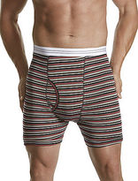 Harbor Bay 2-pk Stripe Boxer Briefs Casual Male XL Big & Tall
