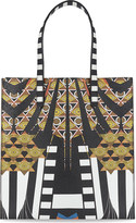Givenchy Printed medium leather shopper