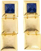 Stephanie Kantis Flapper Triple Earring In Blue Lapis