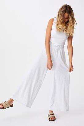Cotton On Wide Leg Lounge Track Pant
