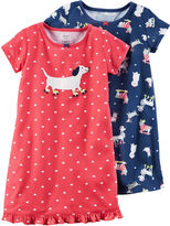 Carter's Short Sleeve Nightgown-Big Kid Girls