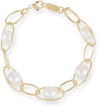 Ippolita 18k Gold Nova Pearl Chain-Link Bracelet