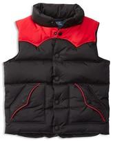 Ralph Lauren Boys' Colorblock Down Vest - Sizes 4-7