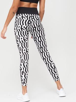 adidas Believe This TKO7/8 Leggings - Black/White