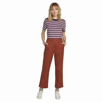 Volcom Women's Frochickie Carpenter Chino Utility Pant