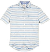 Original Penguin Horizontal Stripe Short Sleeve Shirt