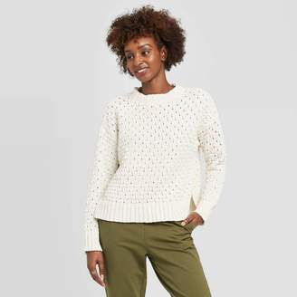 A New Day Women's Crewneck Textured Pullover Sweater