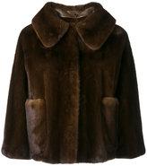 Liska - Cocotte jacket - women - Mink Fur/Cupro - S
