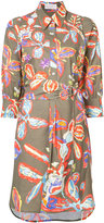 Peter Pilotto batik print shirt dress - women - Cotton/Spandex/Elastane - 8