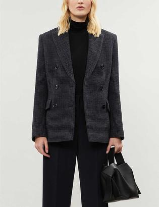 Samsoe & Samsoe Miroux double-breasted cotton-blend jacket