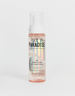 Isle of Paradise Light Glow Clear Self Tanning Mousse