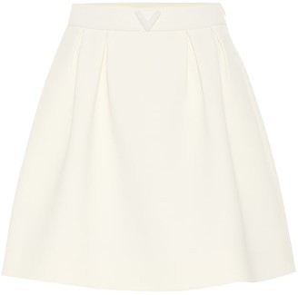 Valentino stretch-wool miniskirt