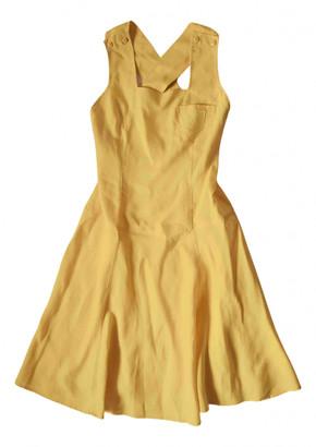 Cacharel Yellow Linen Dresses