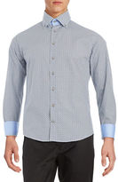 Bugatti Patterned Sportshirt