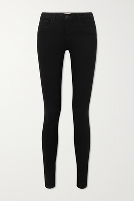 L'Agence Marguerite High-rise Skinny Jeans - Black