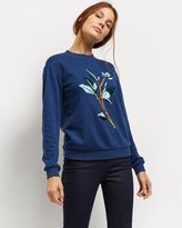 Jaeger Embroidered Sweatshirt