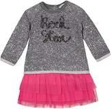 3 Pommes 3Pommes Baby Girls' Preppy Star Dress,12-18 Months