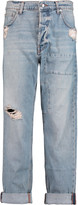 McQ by Alexander McQueen Distressed boyfriend jeans