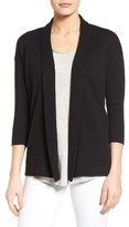 Chaus Women's Cotton Open Front Cardigan