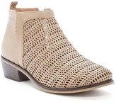 Restricted North Hill Perforated Bootie