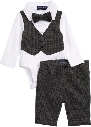 Andy & Evan Vest Bodysuit & Pants Set