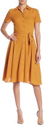 Nanette Nanette Lepore Pintuck Chiffon Dress