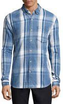 Joe's Jeans Plaid Cotton Shirt