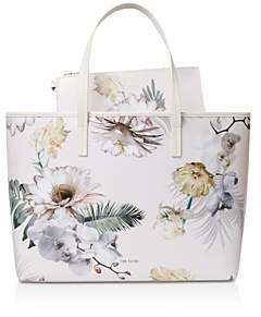 Ted Baker Gracely Woodland Coated Canvas Shopper Tote Bag