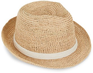 Ale By Alessandra Mariella Straw Sun Hat