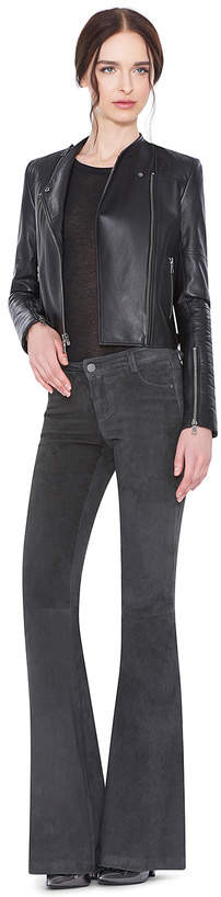 Alice + Olivia Gamma Leather Jacket