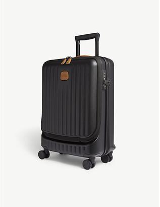 Bric's Brics Black Matt Stripe Capri Four Wheel Carry On Suitcase