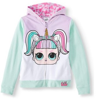 L.O.L Surprise! MGA L.O.L. Surprise! Girls Doll Costume Hoodie, Sizes 4-16