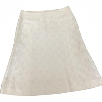 Tara Jarmon White Cotton Skirt for Women