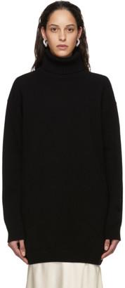 GAUGE81 Black Oversized Cashmere Perth Turtleneck