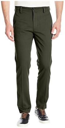 Dockers Easy Khaki Slim Fit Pants (Olive Grove) Men's Clothing